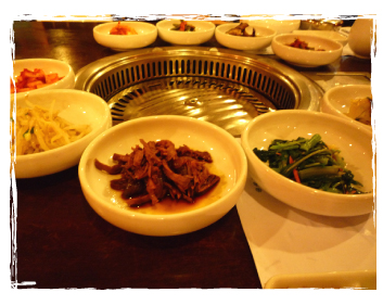 kimchi galore